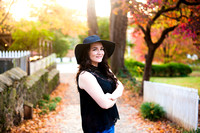 Courtney's Senior Session- Old Salem, Winston Salem NC